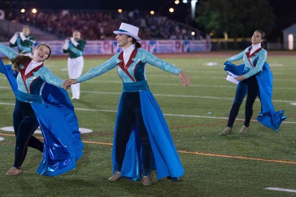 Lindenhurst High School performs at the 56th Annual