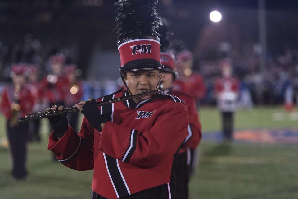 PATCHOGUE-MEDFORD High School performs at the 56th Annual
