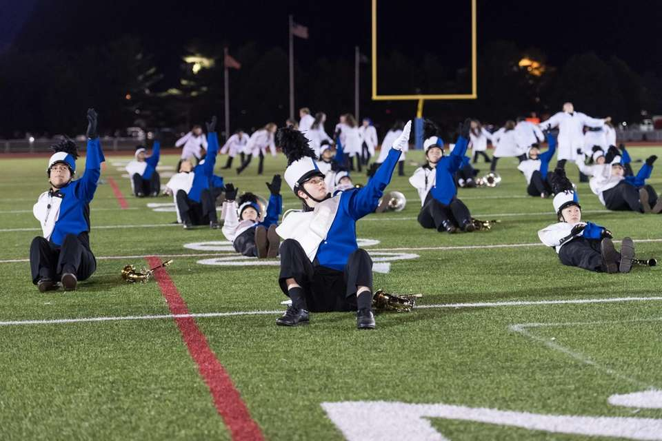 Division Avenue High School performs at the 56th