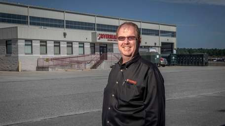 Riverhead Building Supply Co. CEO John Callahan at