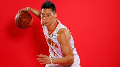Jeremy Lin of the Atlanta Hawks.