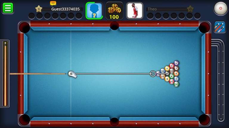 Wildly popular. 8 Ball Pool features beautiful graphics