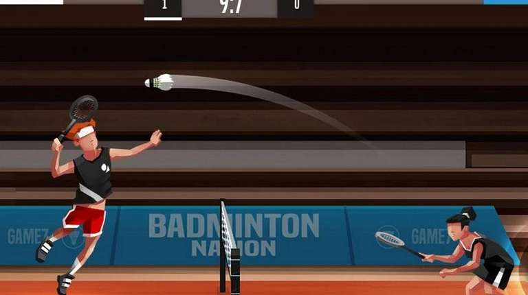 Badminton League - (iOS, Android; free) - Forget