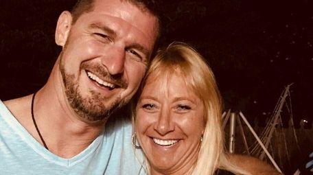 Stefan Ebbinghaus and Deborah Clifford hang out at
