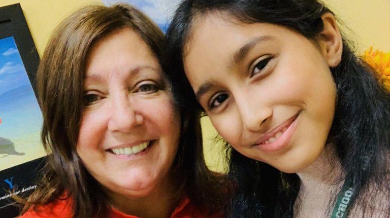 Valley Stream North High School teacher Susan Filoteo,