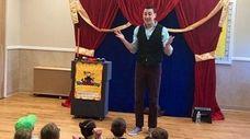Children's entertainer Josh Seiden.