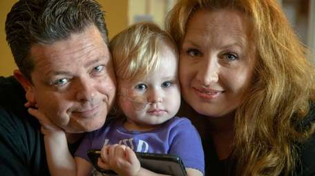 Ken and Sheri Corey with their daughter Brooke,