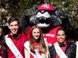 Eight of Stony Brook University's 10 homecoming court