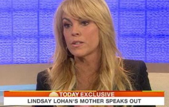 Dina Lohan appeared on NBC's