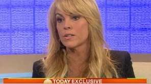Dina Lohan appeared on NBC's