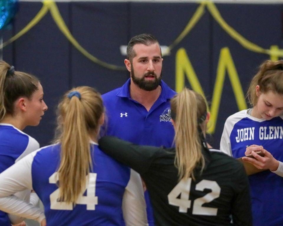 Nick Tremaroli Head Coach of Glenn talks to