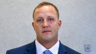 Michael Shear at Suffolk County Court in Riverhead