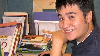 Victor Cruz Portillo, 17, a new graduate of