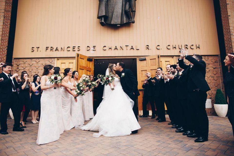 Amanda & Thomas at St. Frances de Chantal