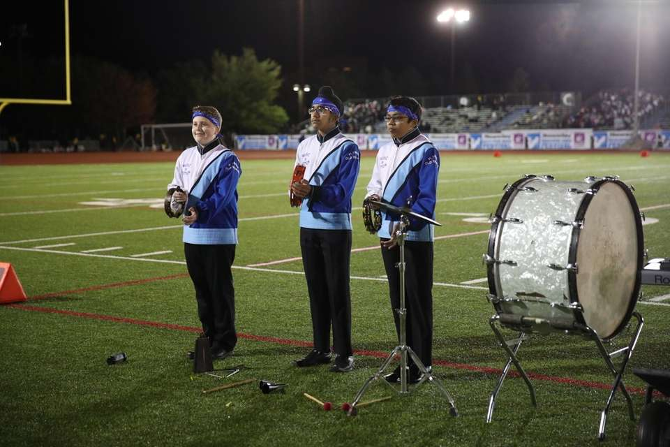 Plainview-Old Bethpage JFK High School performs at the