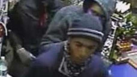 Three men are wanted in the Oct. 9