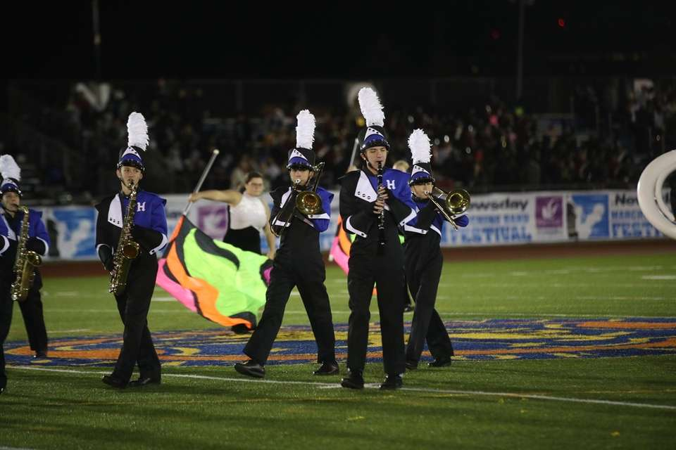 Hauppauge High School performs at the 56th Annual