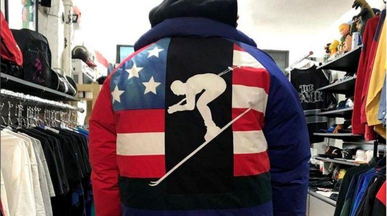 A circa 1992 Polo ski jacket consignment shop