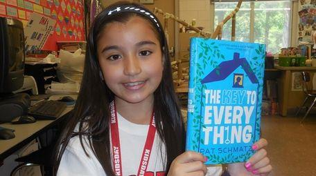 """Kidsday reporter Sophia Bokhari of Holtsville read """"The"""