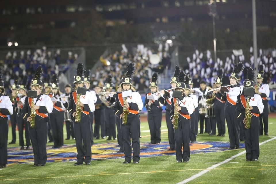 H. Frank Carey High School performs at the