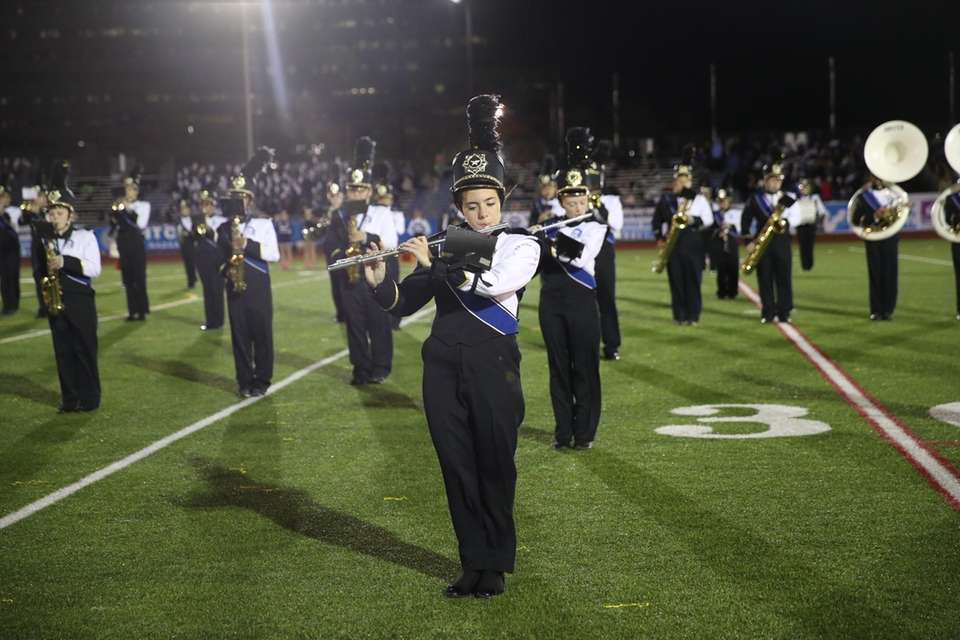 New Hyde Park Memorial High School performs at