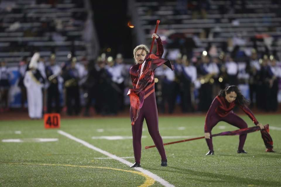 Floral Park Memorial High School performs at the