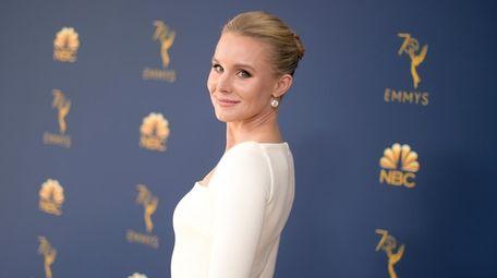 Kristen Bell attends the Primetime Emmy Awards in