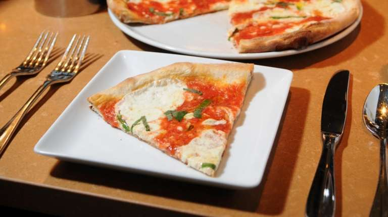Margherita-style brick oven pizzettes are offered at La