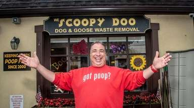 Jim Coniglione, seen on Monday, owns Scoopy Doo