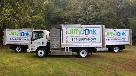 Robert Palumbo's Jiffy Junk name incubated for about