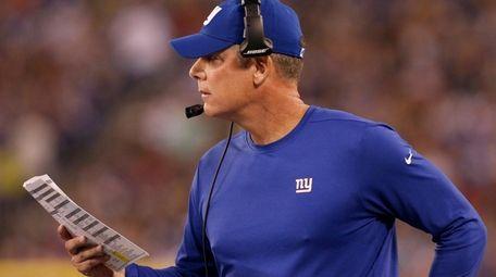 Coach Pat Shurmur is off to a rough