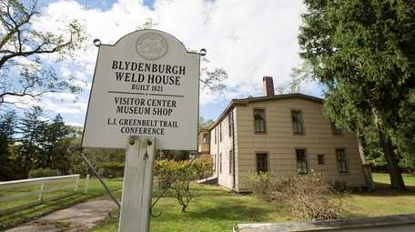 The Blydenburgh-Weld House, home of the Long Island