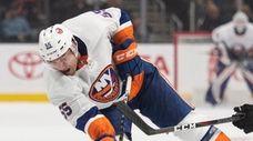 Coach Barry Trotz considers  Islanders defenseman Johnny