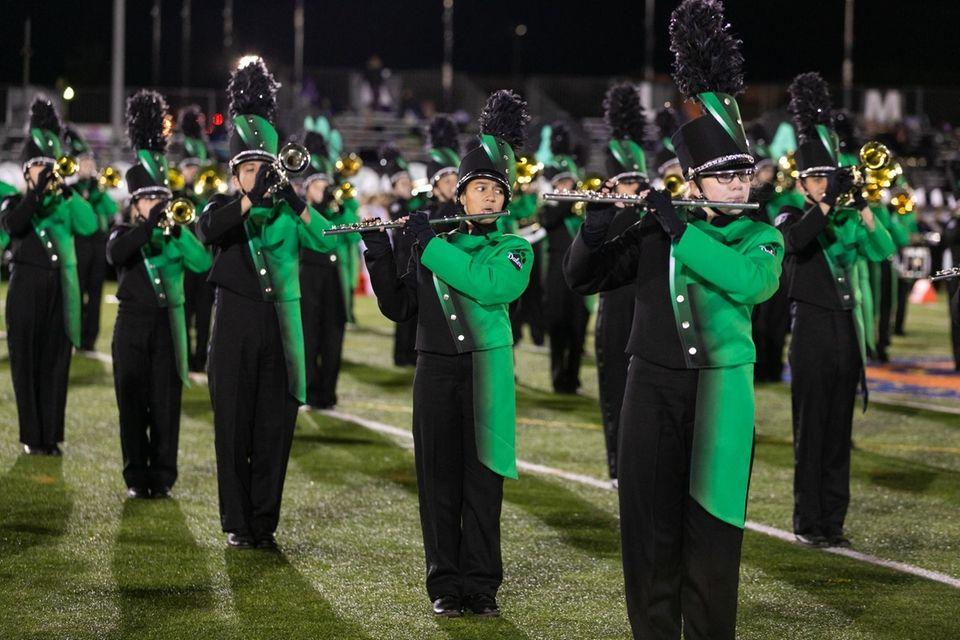 Farmingdale High School performs at the 56th Annual