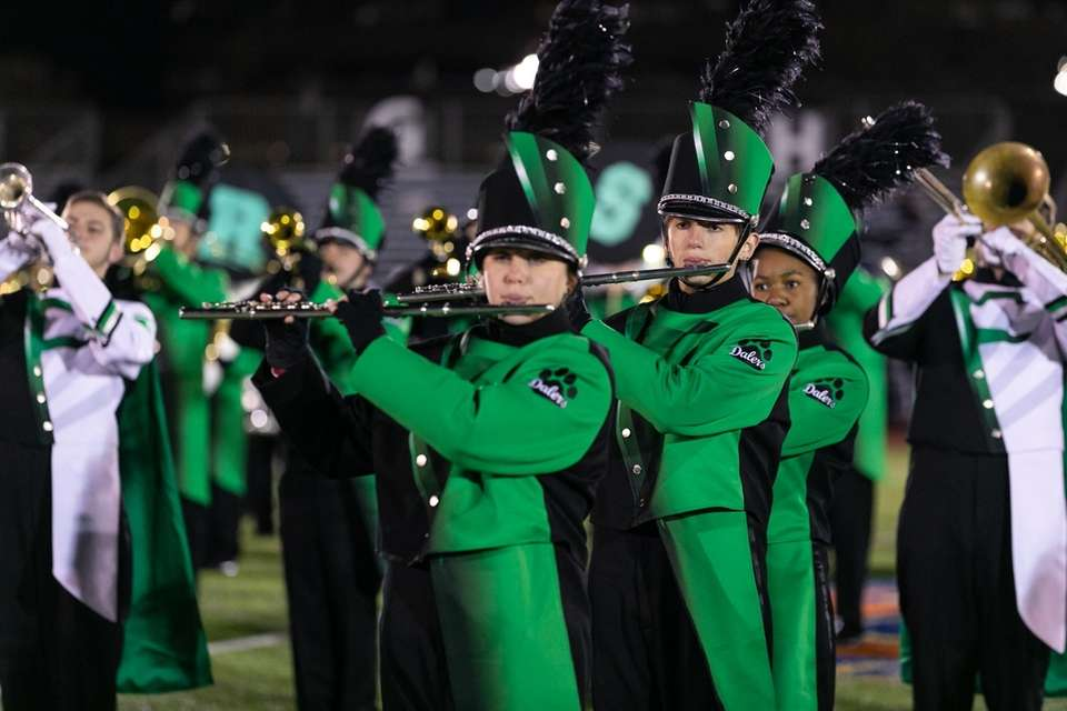 Farmingdale High School performs at the 56th Annual