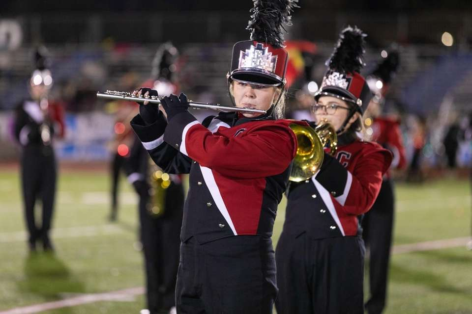 Connetquot High School performs at the 56th Annual