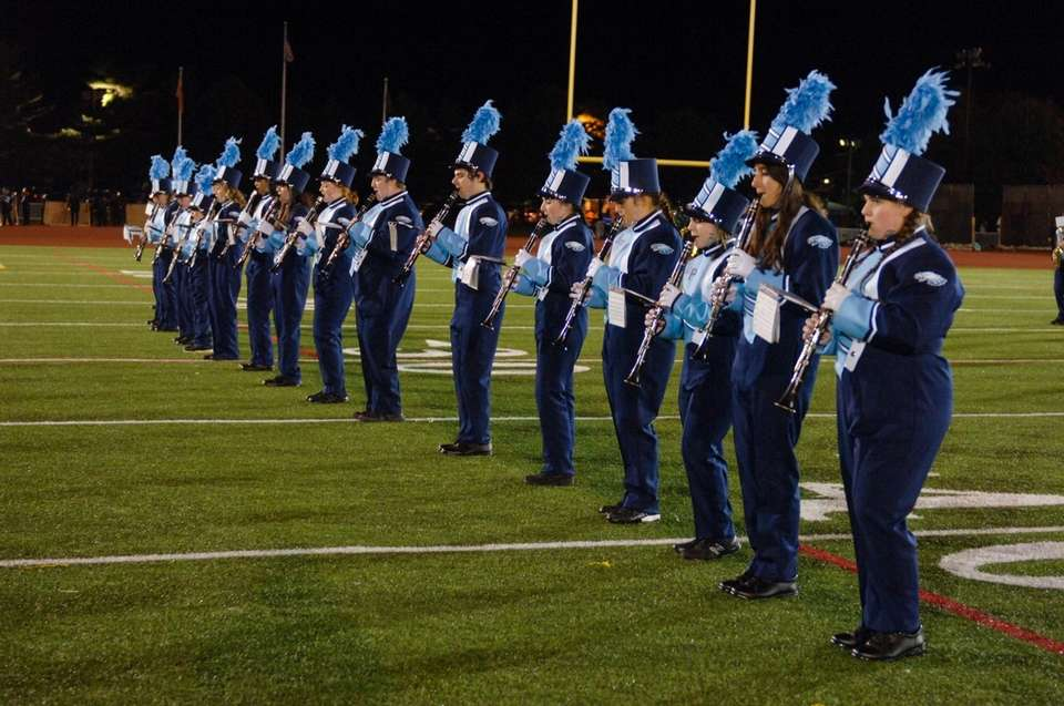 Rocky Point High School performs at the 56th