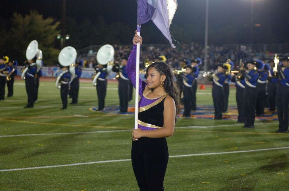Central Islip Senior High School performs at the