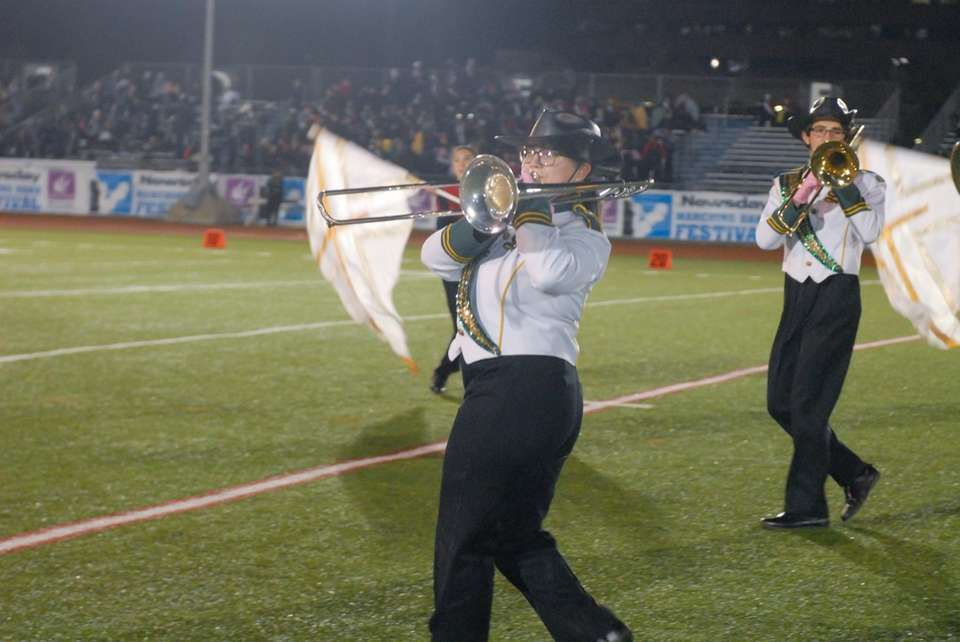 Seaford High School performs at the 56th Annual