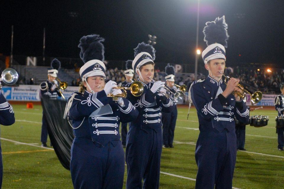Eastport-South Manor Junior-Senior High School performs at the