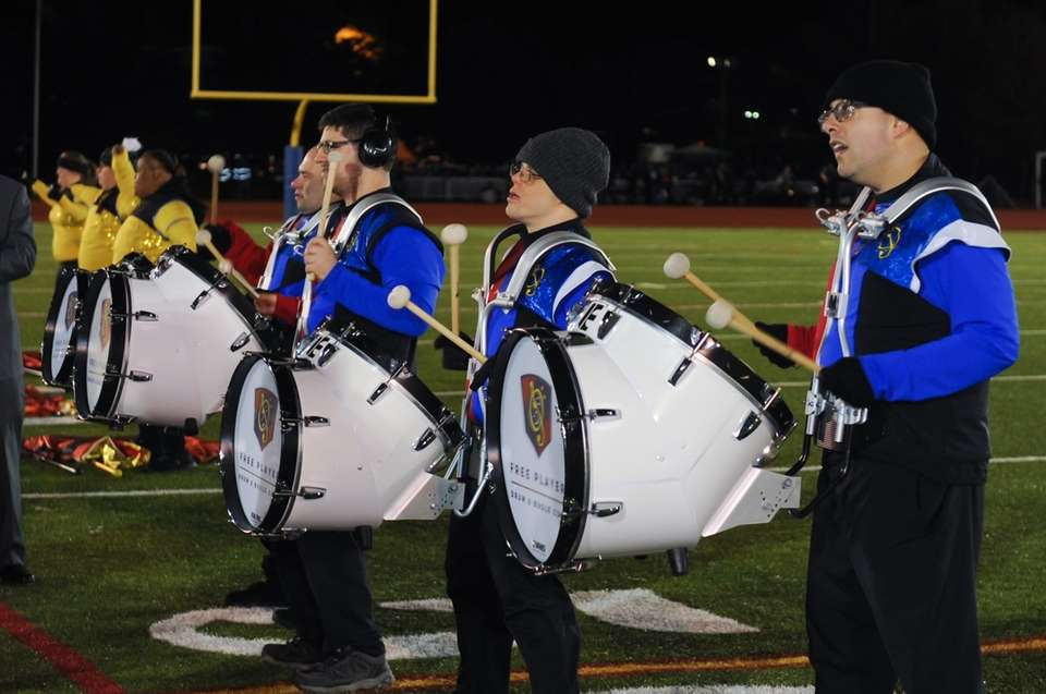 Free Players Drum & Bugle Corps performs at