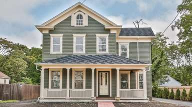 The refurbished home is on the market for