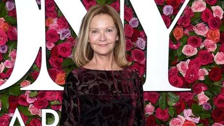 Joan Allen arrives at the 72nd annual Tony