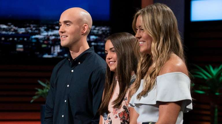 Wantagh siblings Christian, Keira and Kaley Young present