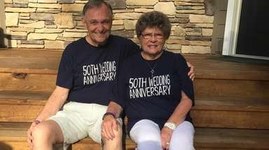 Jim and Dianne Jackman of Manorville celebrated their