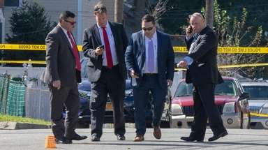 Police investigate a fatal shooting Friday afternoon on