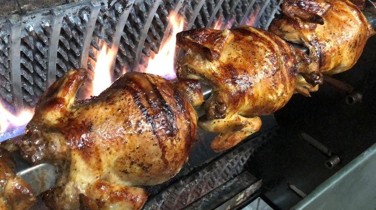 Rotisserie chicken is a specialty at El Encanto