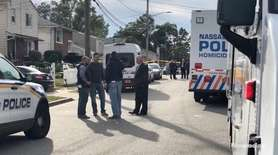 Police and neighbors discussed the shooting on Friday