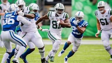 New York Jets wide receiver Quincy Enunwa (81)
