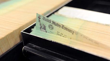 Social Security checks.